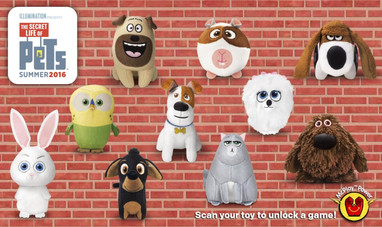 The Secret Life of Pets (McDonalds, 2016)