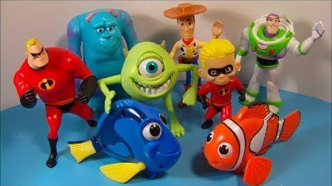 Pixar Pals (McDonald's, 2005)