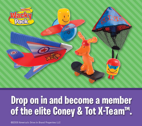Coney & Tot X-Team (Sonic, 2009)