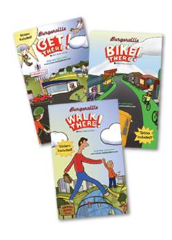 Drive Less Save More books (Burgerville, 2011)