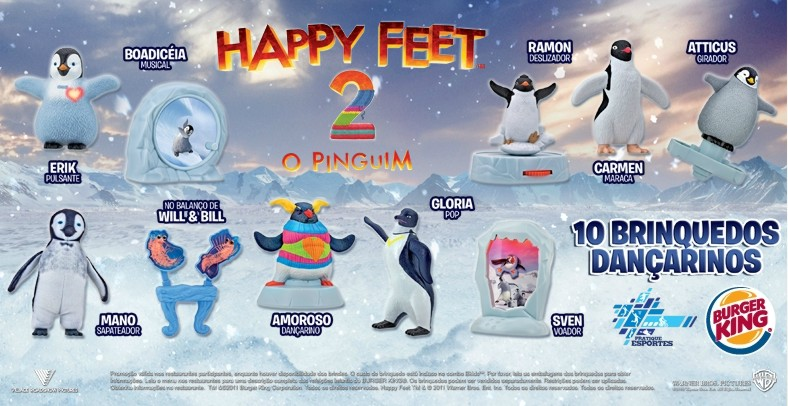 Happy Feet 2 (Burger King, 2011)