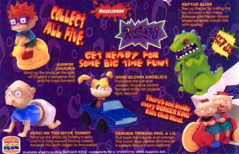 Rugrats (Burger King, 1998)
