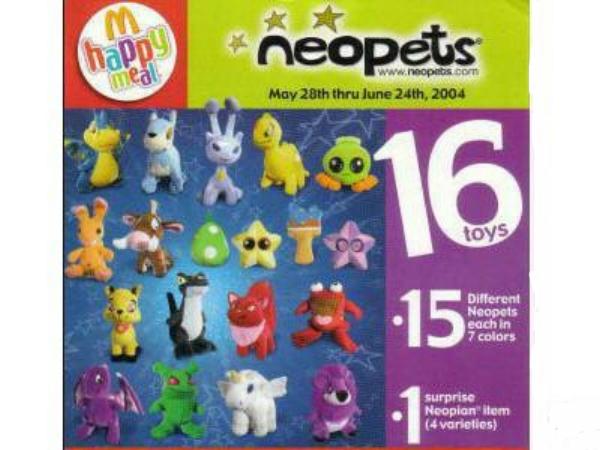 Neopets (McDonald's, 2004)
