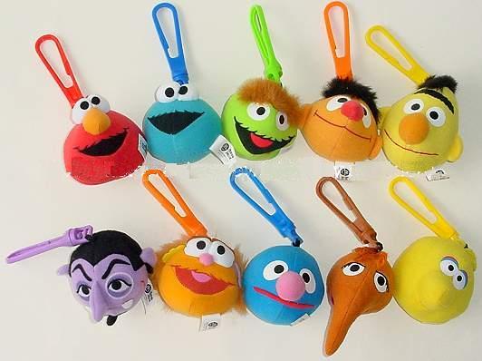 Sesame Street clip-ons (McDonald's Australia, 2003)