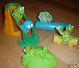 Kermit's Swamp Years toys (Dairy Queen, 2002)
