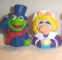 Muppet Christmas Carol finger puppets (Hardee's, 1993)