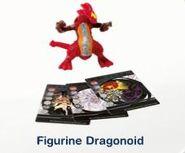 2011 Bakugan Figurine Dragonoid