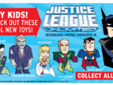 Justice League Unlimited: Bobbing-Head Heroes 2 (Arby's, 2011)