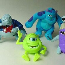 Monsters Inc Mcdonald S Australia 2002 Kids Meal Wiki Fandom