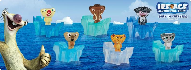 Ice Age: Continental Drift (McDonald's, 2012)
