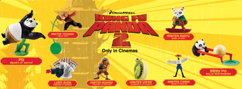 Kung Fu Panda 2 (McDonald's, 2011)