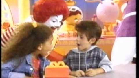 Happy Birthday Happy Meal (McDonald's, 1994)