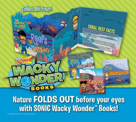 Sonic Wacky Wonders Books (Sonic, 2008)