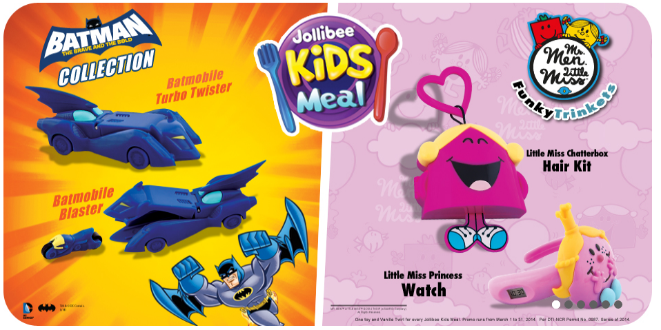 Mr. Men Little Miss Funky Trinkets (Jollibee, 2014)