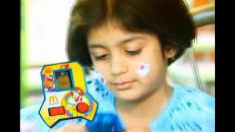 Hello Kitty and McDonaldland Basketball (McDonald's Pakistan, 2004)