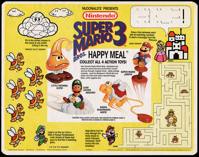 Super Mario Bros. 3 (McDonald's, 1990)