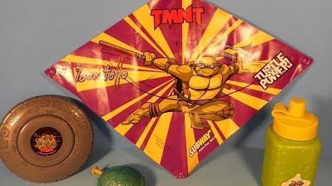 Teenage Mutant Ninja Turtles Activity (Subway, 2005)
