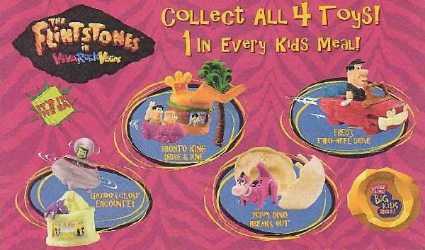 The Flintstones in Viva Rock Vegas (Burger King, 2000)