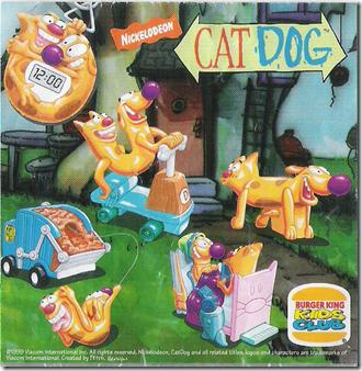 CatDog (Burger King, 1999)