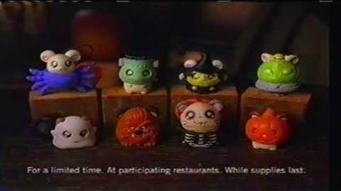 Halloween Hamtaro (Burger King, 2003)