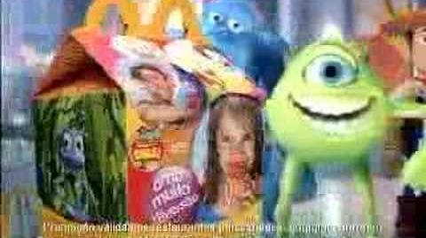 Pixar (McDonald's Brazil, 2004)