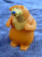 Subway bear