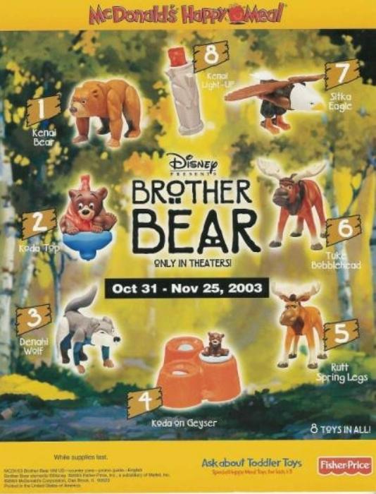 Brother Bear (McDonald's, 2003)