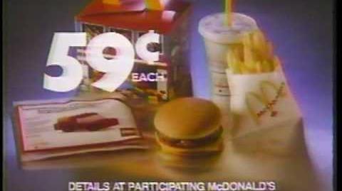 Lego (McDonald's, 1986)
