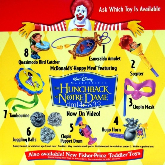 The Hunchback of Notre Dame (McDonald's, 1997)