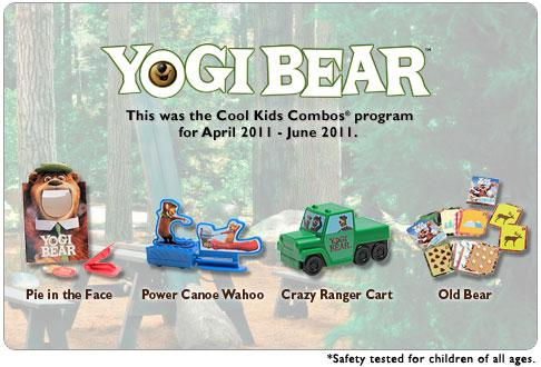Yogi Bear (Hardee's, 2011)