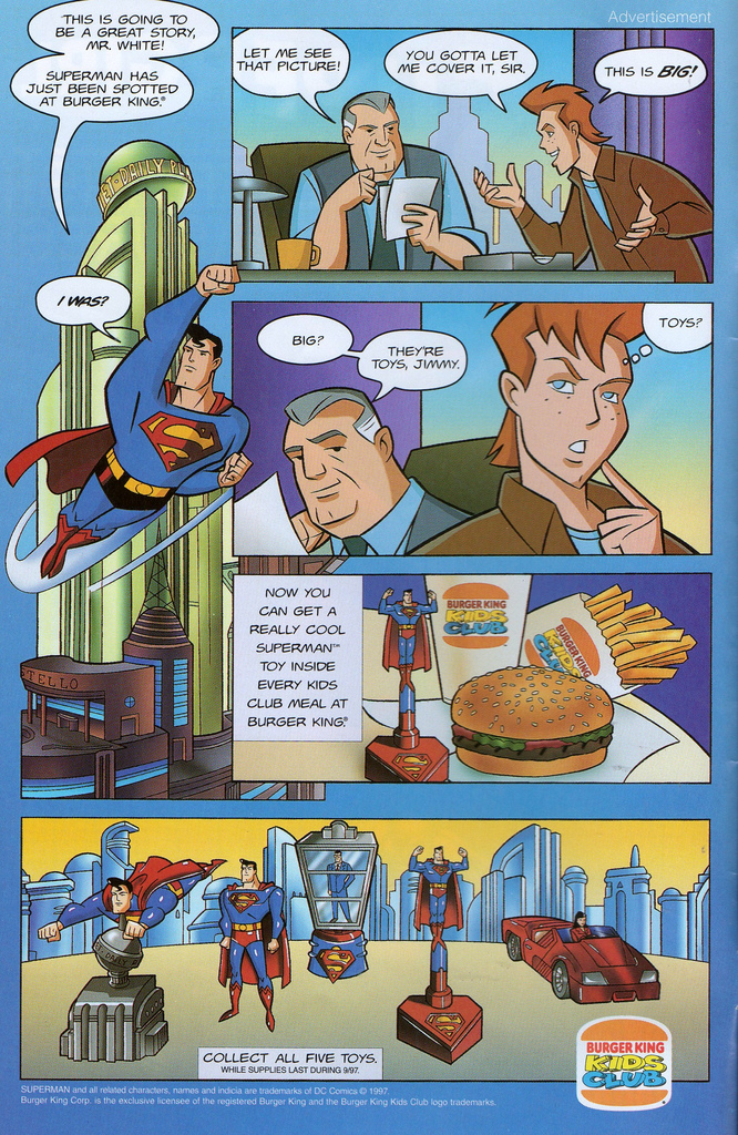 Superman: The Animated Series (Burger King, 1997)