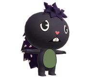 Grapes the purple and green porcupine by zhuzhupets170 delggwr