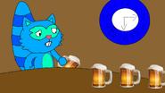 Deeps at a bar