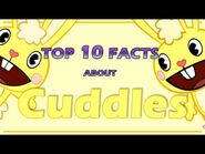 Top 10 Facts About CUDDLES From Happy Tree Friends (Character review)