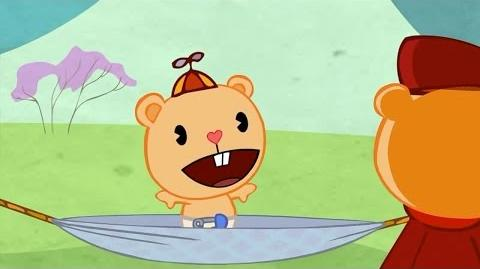 "Cub's baby talk from ""Chip Off the Ol' Block"" reused in Water Way to Go""."