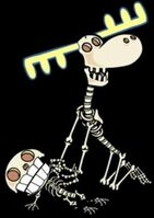 Cuddles lumpy skeletons