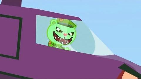 "Fliqpy's evil laugh from ""Hear Today, Gone Tomorrow"" reused in some Happy Tree Friends episodes."