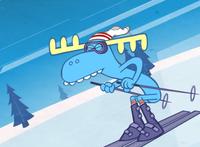 Skiingmoose