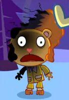 Burned Afro