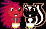 PePe & Hugo Peed Their Diapers 3