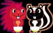 PePe & Hugo Peed Their Diapers 1