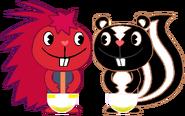 PePe & Hugo Peed Their Nighttime Diapers 3
