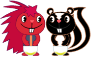PePe & Hugo Peed Their Diapers 2
