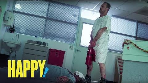 HAPPY! Season 1 Teaser Trailer Money Shot SYFY