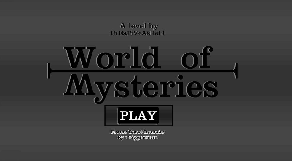 -World of Mysteries-