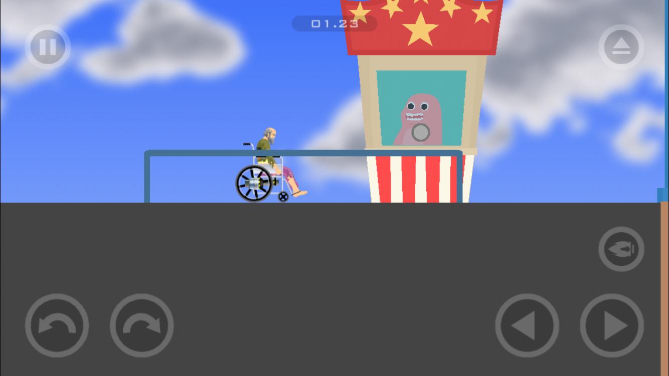 Mobile App Level 11 (Wheelchair Guy)