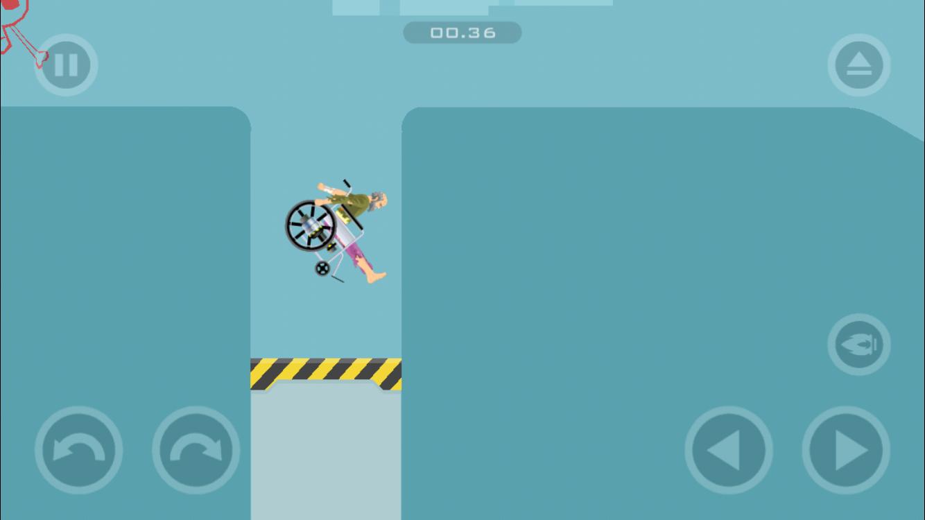 Mobile App Level 8 (Wheelchair Guy)
