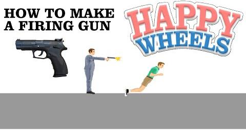 Happy Wheels - How to make a firing gun (no blood intended)-1527919301