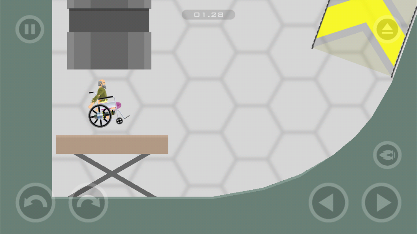 Mobile App Level 9 (Wheelchair Guy)