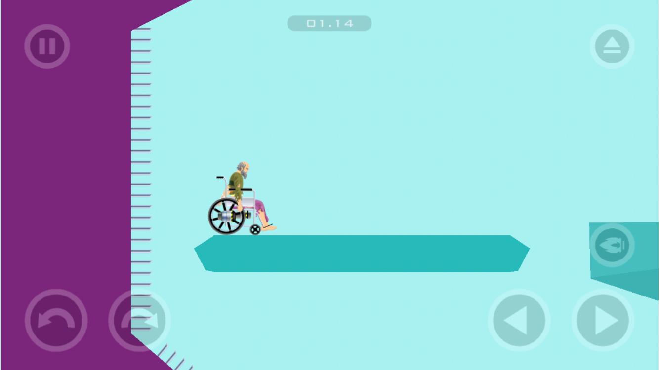 Mobile App Level 12 (Wheelchair Guy)